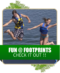 The fun never ends at Footprints
