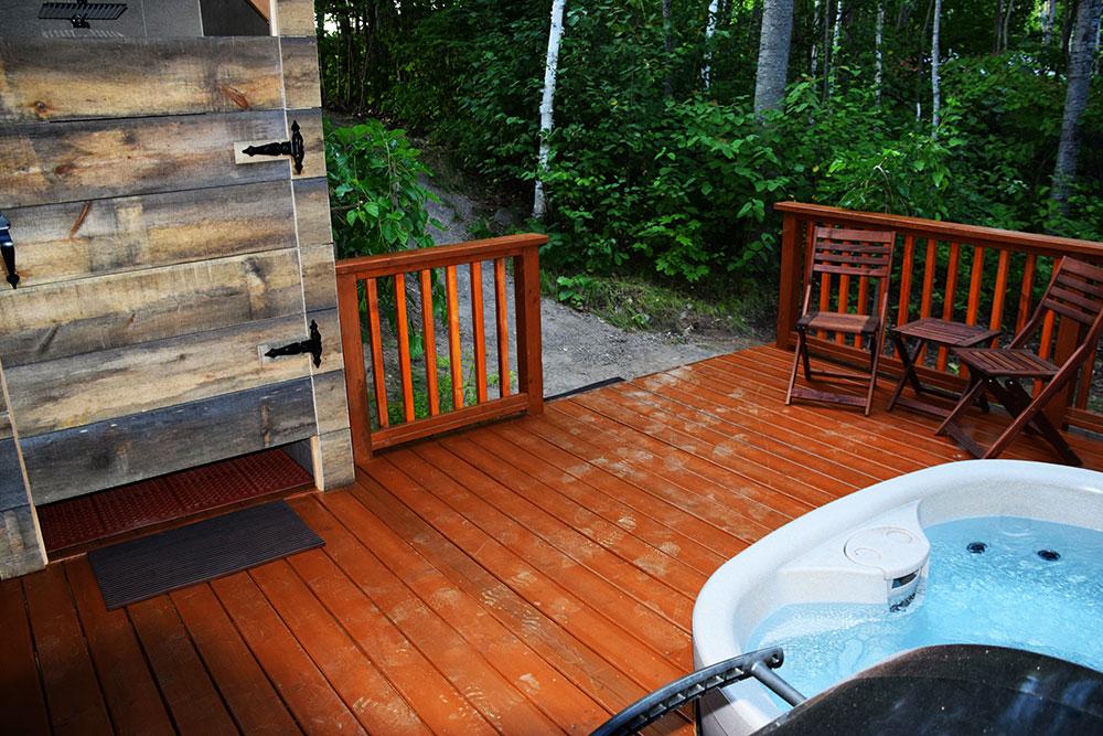 Garden Villa - Deck